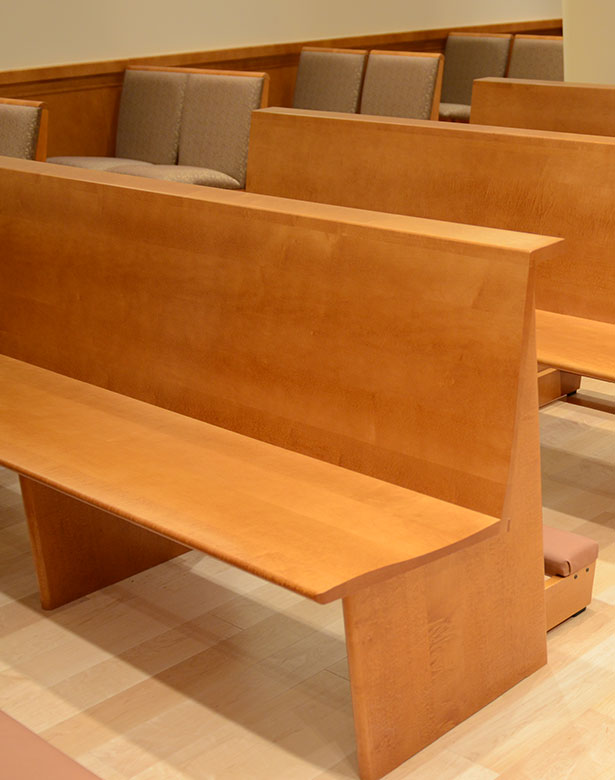 Our Work - Pews