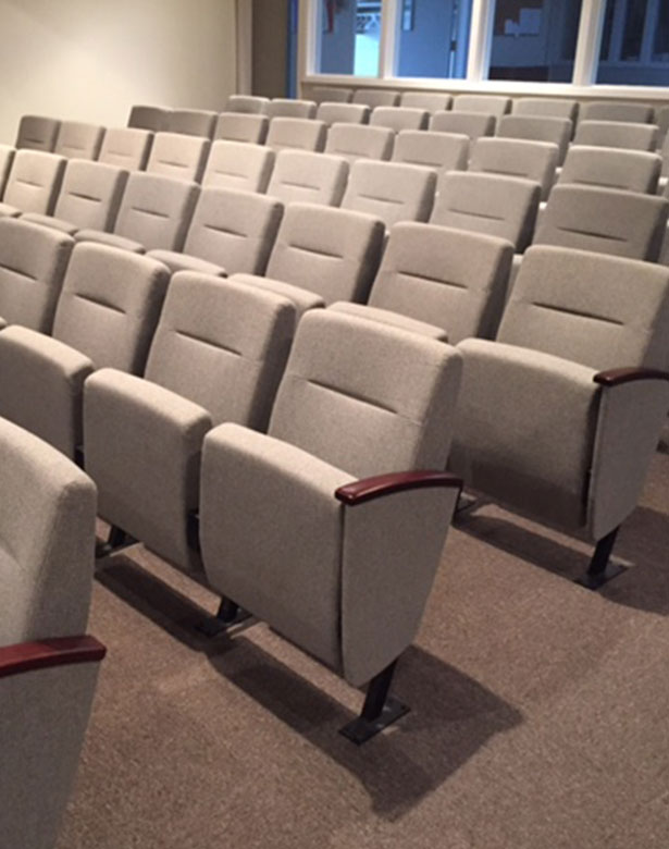 Our Work - Theatre Seating